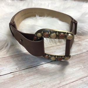 Chico's | Boho Style High Waist Vegan Leather Belt